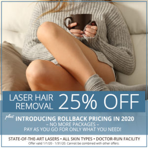 Laser Hair Removal - 25% Off