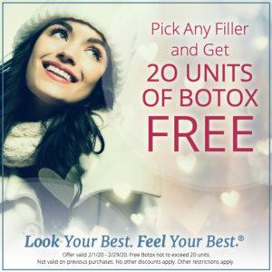 Promo - 20 Units of Botox Free