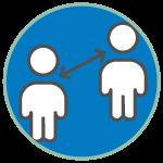 icon Social Distancing