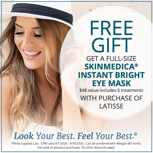 Free Gift Latisse Promo